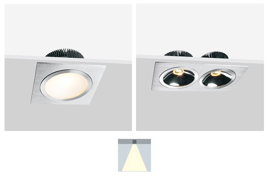 LED Reflector Down Lights
