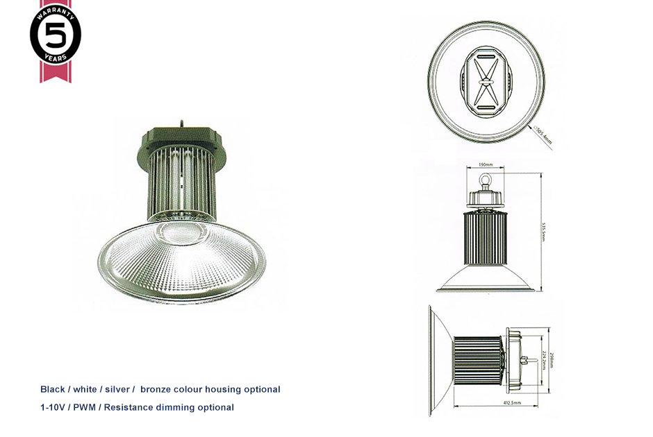 LED Round High Light